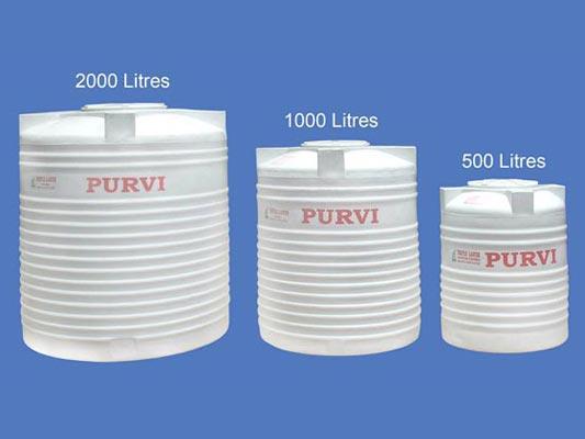 Plastic Water Tank in Ahmedabad - PurviPlastic Water Tank in Ahmedabad - Purvi